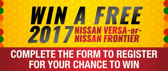 Pronto Insurance's Nissan Giveaway