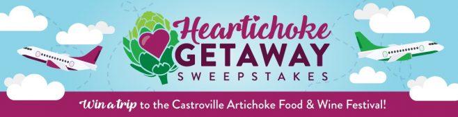 Heartichoke Getaway Sweepstakes