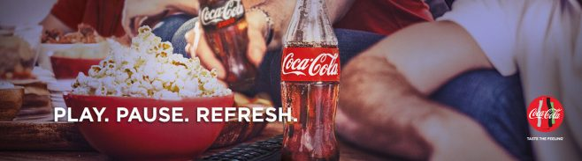 Coca-Cola PLAY. PAUSE. REFRESH. Sweepstakes