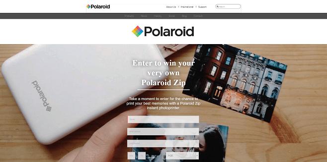 Polaroid x Household Mag Sweepstakes