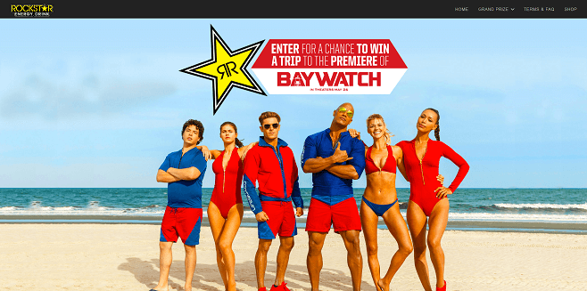 Rockstar Baywatch Sweepstakes