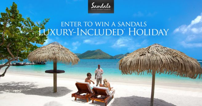 Sandals Luxury Vacation Sweepstakes