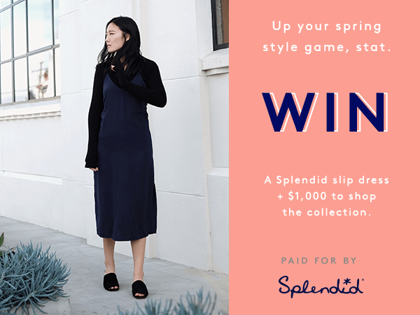 Splendid Spring Slip Dress Sweepstakes