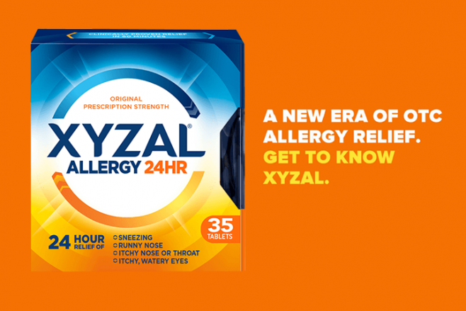 Xyzal Allergy 24HR  Healthcare Professionals  Home