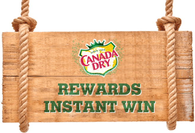2017 Canada Dry Rewards Instant Win