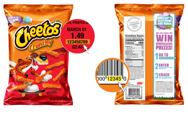CHEETOS Easter Egg Hunt 2017 Bag Code