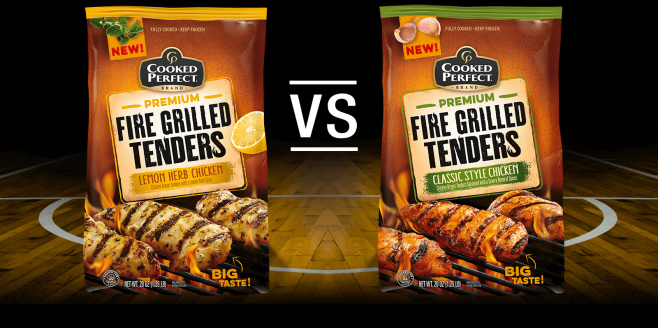Cooked Perfect Fire Grilled Flavor Bracket Sweepstakes