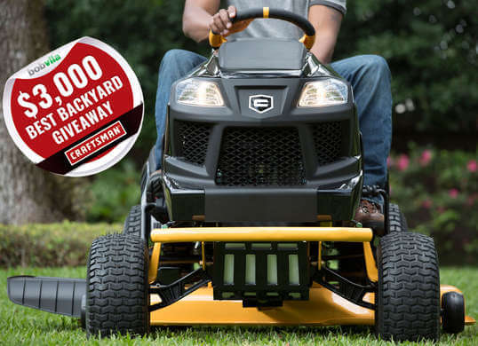 Bob Vila's $3000 Best Backyard Giveaway