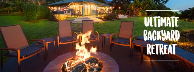 duraflame Ultimate Backyard Retreat Spring Giveaway