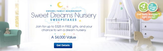 Enfamil Family Beginnings Sweet Dreams Nursery Sweepstakes