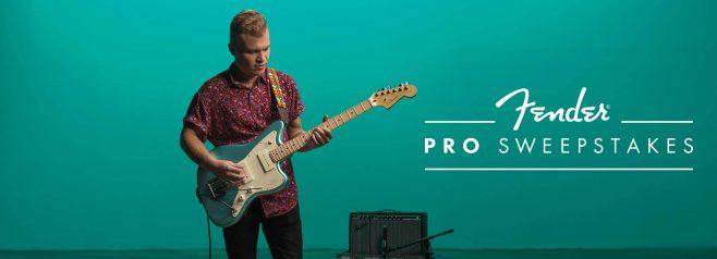 Fender Pro Sweepstakes