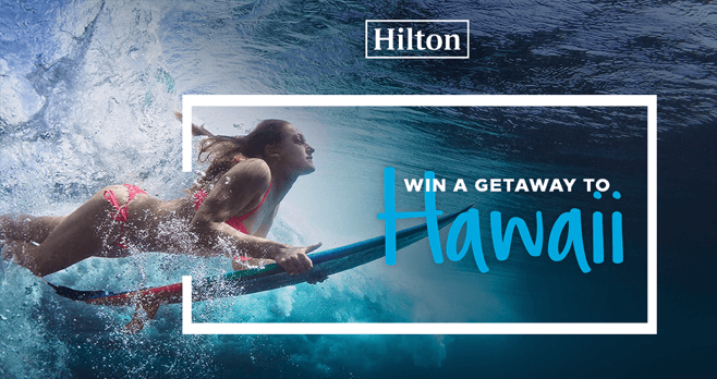 Hilton Hawaii Sweepstakes (HiltonHawaii.com/Sweepstakes)