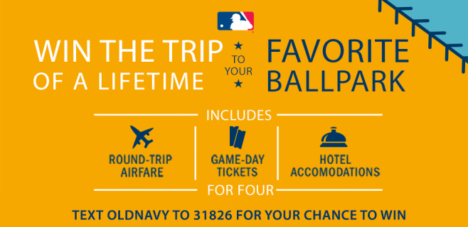 MLB Trip Of A Lifetime Sweepstakes