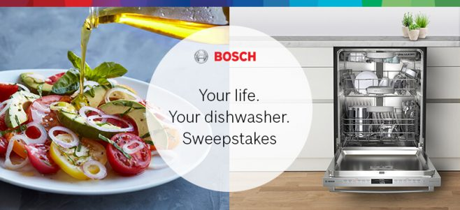 Bosch Your Life. Your. Dishwasher. Sweepstakes