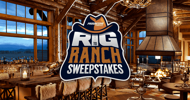 Progressive Rig To Ranch Sweepstakes (RigToRanch.com)