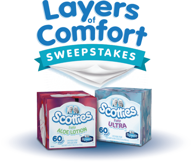 Scotties Layers of Comfort Sweepstakes
