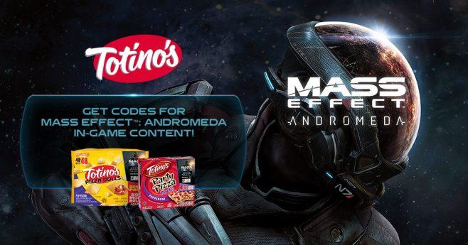 Totino's Mass Effect Andromeda Sweepstakes (TotinosMassEffect.com)