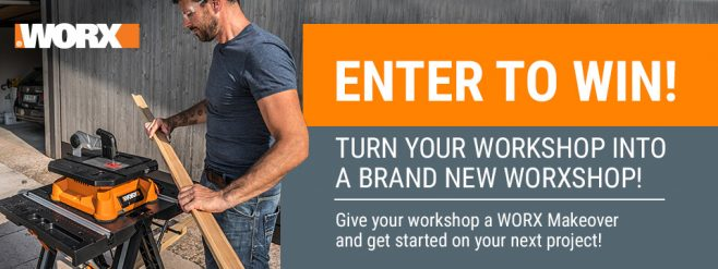 WORX Spring Makeover Sweepstakes