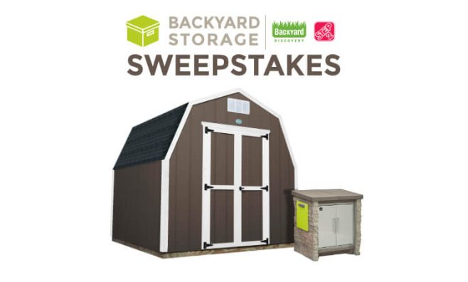 Step2 Discovery Backyard Storage Sweepstakes