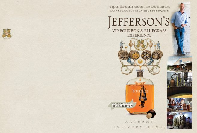 Jefferson's VIP Bourbon & Bluegrass Experience Sweepstakes