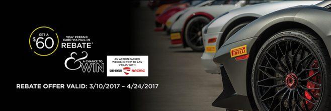 Pirelli Spring 2017 Sweepstakes