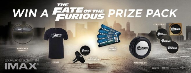 The Fate of the Furious IMAX Sweepstakes