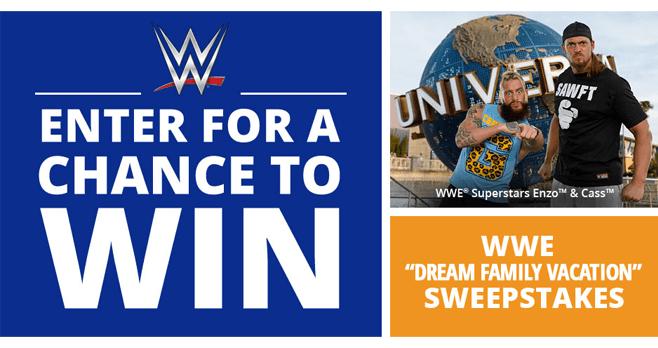 WWE Universal Sweepstakes 2017 (WWE.com/UniversalSweeps)