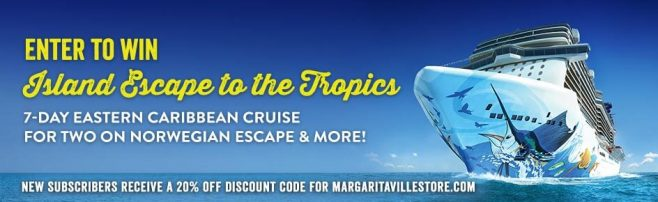 Margaritaville Island Escape Sweepstakes