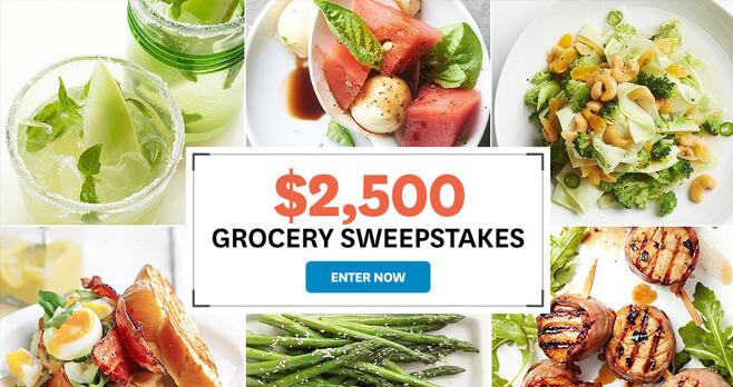 BHG.com $2,500 Grocery Sweepstakes