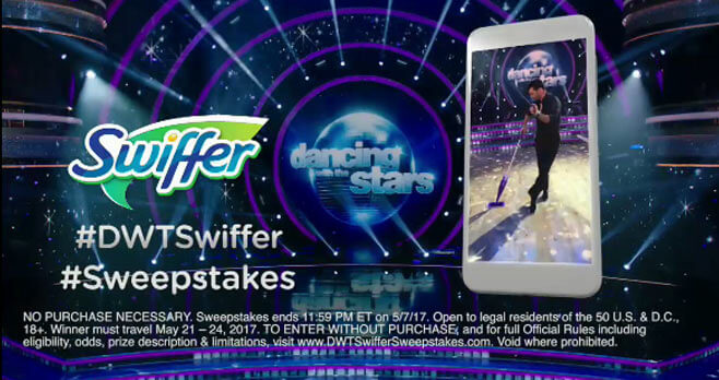 Dancing With The Stars Swiffer Sweepstakes (DWTSwifferSweepstakes.com)