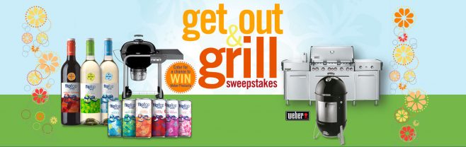 flipflop Wines Get Out and Grill Sweepstakes