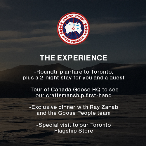 Canada Goose Goose People Sweepstakes