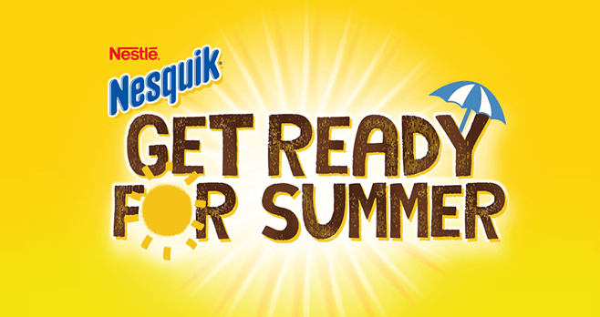 Nesquik Get Ready For Summer Promotion (NesquikPromo.com)