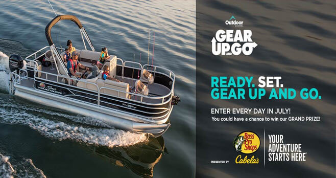 2018 Outdoor Channel Gear Up & Go Sweepstakes (OutdoorChannel.com/GearUpAndGo)