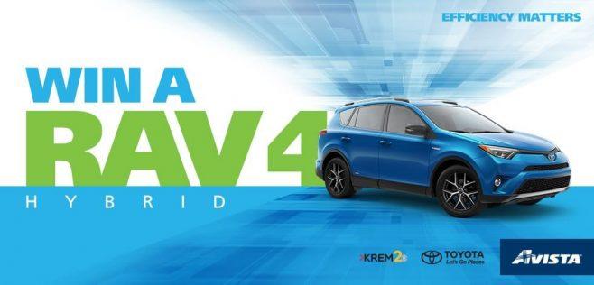 KREM RAV4 Hybrid Sweepstakes