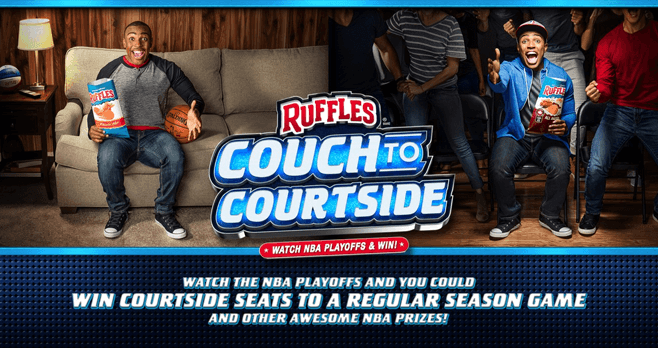 Ruffles Couch To Courtside Sweepstakes (RufflesCouchToCourtside.com)