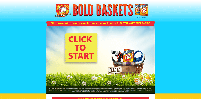 Slim Jim Bold Baskets Sweepstakes