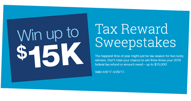 Staples Tax Reward Sweepstakes 2017 (Staples.com/TaxSweeps)