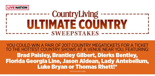 Country Living Ultimate Country Sweepstakes