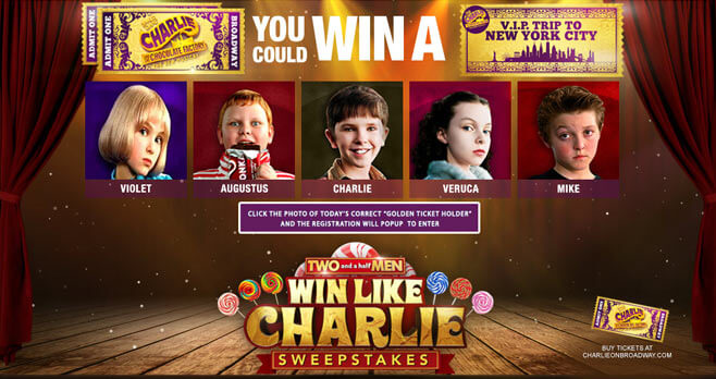 Two And A Half Men Sweepstakes (WinLikeCharlie.com)