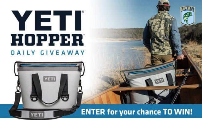 Bassmaster YETI Hopper Daily Giveaway