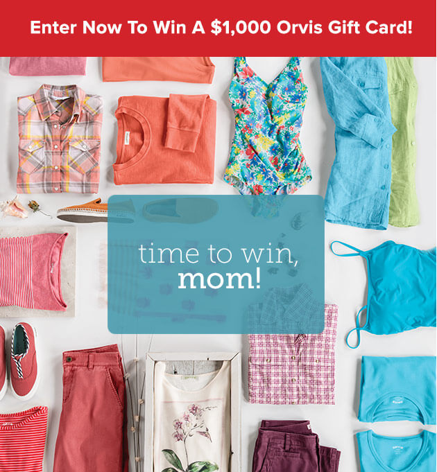 Orvis Mother's Day Sweepstakes