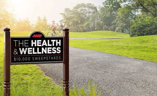 AARP Health and Wellness $10,000 Sweepstakes
