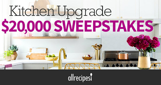 All Recipes $20,000 Sweepstakes