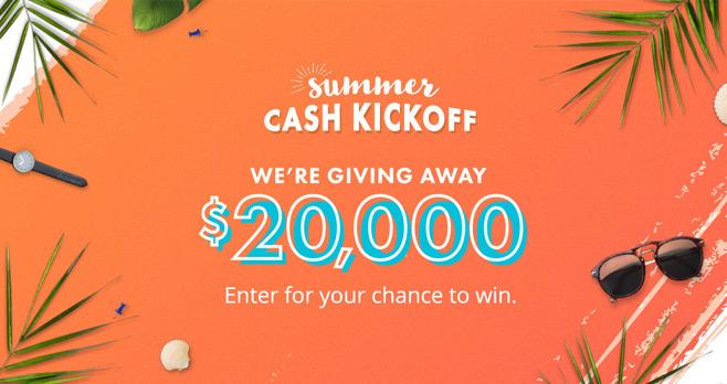 Dave Ramsey Summer Cash Kickoff Giveaway