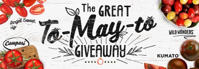 Sunset Great to-MAY-to Giveaway