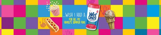 Wet Ones Summer Fun Game