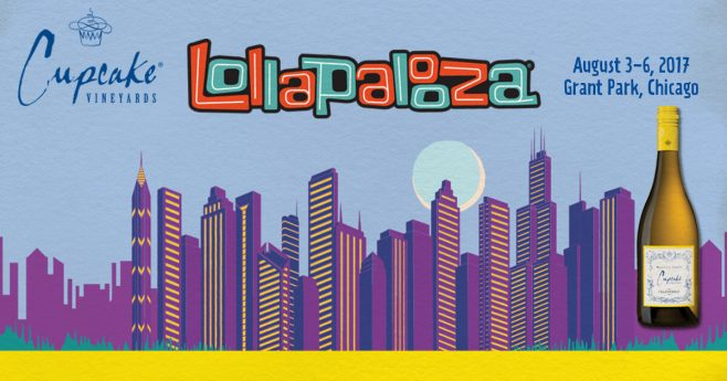 Cupcake Vineyards Lollapalooza Sweepstakes