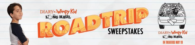 Diary of a Wimpy Kid: The Long Haul Road Trip Sweepstakes
