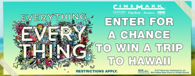 Cinemark Everything Hawaii Sweepstakes